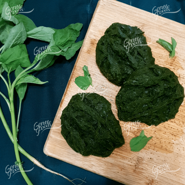 Puréed Stir Fry Spinach - 6pc