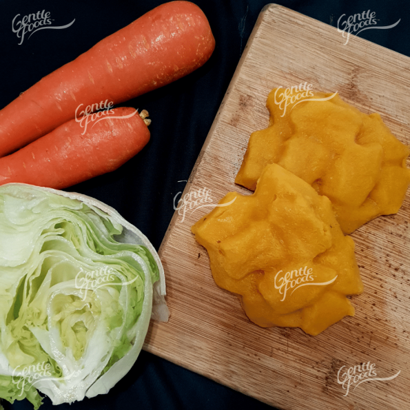 Puréed Stir Fry Cabbage and Carrot - 6pc